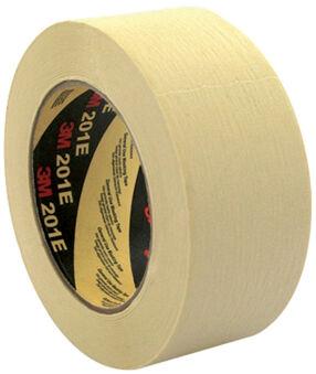 3M Ruban adhésif crêpé 201E, 36 mm x 50 m, Papier, beige
