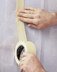 3M Ruban adhésif crêpé 101E, 18 mm x 50 m, papier, beige
