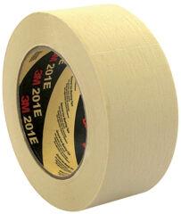 3M Ruban adhésif crêpé 201E, 18 mm x 50 m, Papier, beige