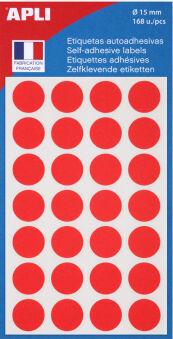 agipa Pastille de signalisation, diamètre: 8 mm, rond,violet