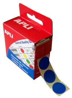 agipa Pastille de signalisation, diamètre: 15 mm, violet