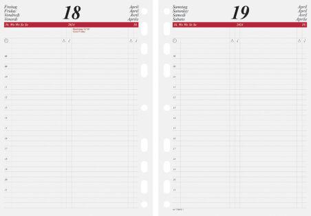 rido idé Calendrier pour agenda 'Calendrier journalier' 2019