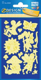 AVERY Zweckform ZDesign Stickers brillants 'elfes'