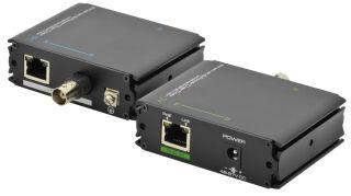 DIGITUS Kit d'extension Fast Ethernet PoE + VDSL