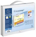 EXACOMPTA Boîte valisette avec poignée Kreacover, A4, PP