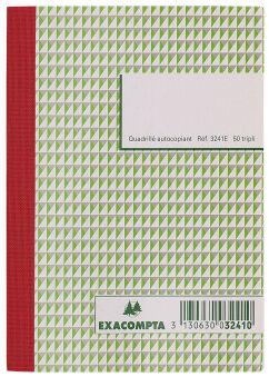 EXACOMPTA Manifold 'Quadrillé', 297 x 210 mm, tripli