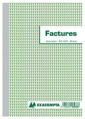 EXACOMPTA Manifold 'Factures', 210 x 148 mm, tripli