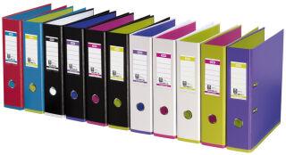 Oxford classeur myColour, largeur de dos: 80 mm, violet/vert