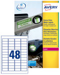 AVERY Étiquettes ultra-résistantes, 99,1 x 38,1 mm, blanc
