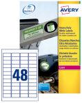 AVERY Étiquettes ultra-résistantes, 45,7 x 21,2 mm, blanc