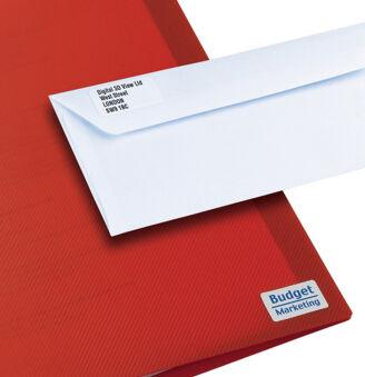 AVERY Mini étiquette d'adresse laser, 45,7 x 16,9 mm, blanc