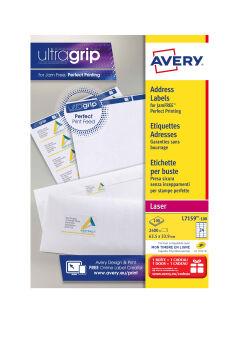 AVERY Etiquette d'adresse, 99,1 x 42,3 mm, blanc