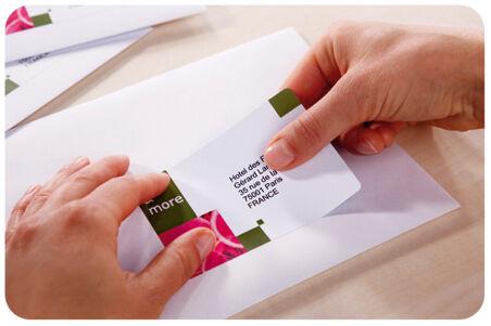 AVERY Etiquette d'adresse jet d'encre, 99,1 x 33,9 mm, blanc
