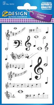 AVERY Zweckform Sticker ZDesign 'Coccinelle avec feuilles
