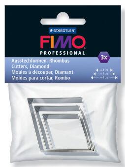 FIMO PROFESSIONAL Moules à découper pour pâte à modeler