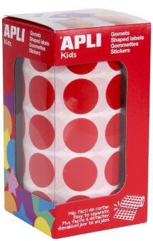 agipa apli Kids Gommette de couleur en rouleau, bleu