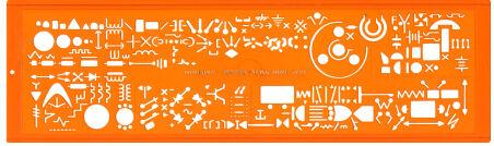 MINERVA Trace symboles Electrographe No.13 a, norme NF