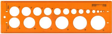 MINERVA Trace cercles pairs-Impairs, No.18
