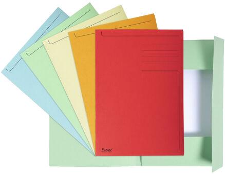 EXACOMPTA Chemise imprimée Foldyne 300, A4, orange