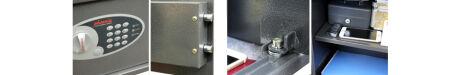 phoenix Coffre-fort de sécurité VELA HOME / BUREAU SS0805E