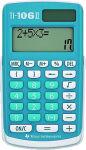 TEXAS INSTRUMENTS Calculatrice de poche TI-106 II