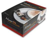 HELLMA Amandes enrobées de cacao, boîte de dégustation