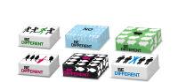 HELLMA Sucre en morceaux CUBUS'Be different', dans un carton