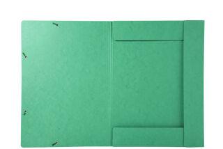 EXACOMPTA Chemise à élastique, A3, carton, noir