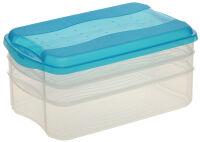 ok Kit de boîte de conservation 'Food Center', fresh-blue