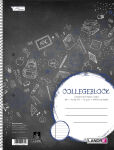 LANDRÉ Collegeblock 'college', format A4, ligné, 80 feuilles