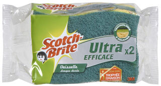 3M Scotch-Brite Eponge grattante Ultra Efficace, vaisselle