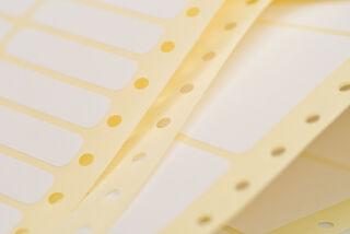 AVERY Etiquette pour impression en continu, 107,0 x 36,1 mm