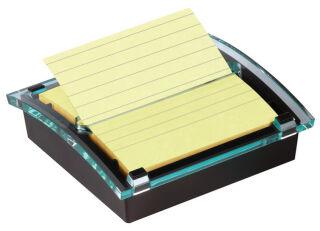 Post-it Distributeur Z-Notes, noir/transparent, 1 bloc
