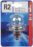 uniTEC Ampoule R2 pour phare principal voiture, 12V, 45/40 W