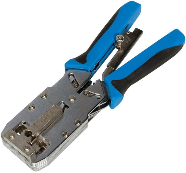 LogiLink Pince à sertir universelle avec Cutter et isolater METAL