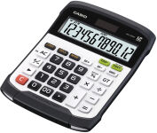 CASIO Calculatrice de bureau WD-320 MT, alimentation solaire