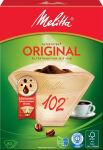Melitta Filtre à café arôme '102', marron nature