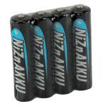 ANSMANN Pile nickel-zinc, Micro AAA, 550 mAh, Shrink de 4