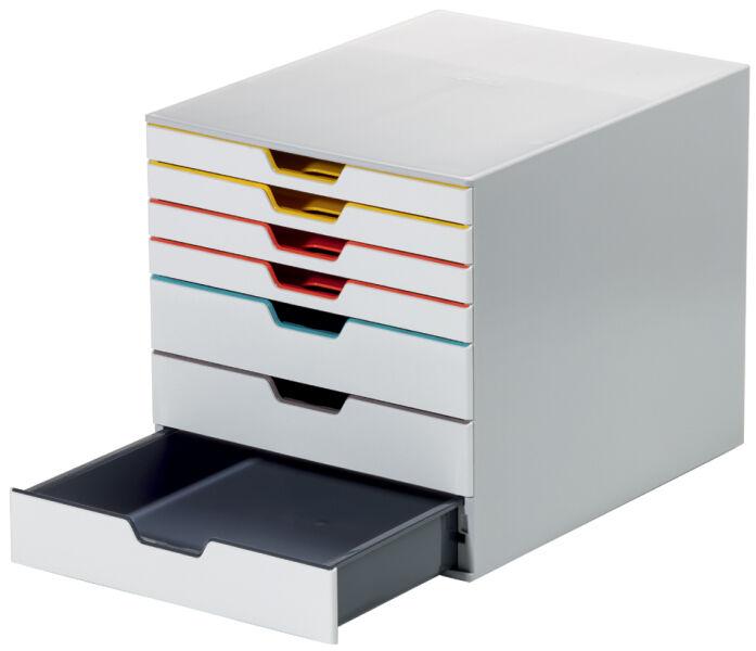durable 9760727 66 60 durable module de rangement varicolor 7 avec 7 tiroirs. Black Bedroom Furniture Sets. Home Design Ideas