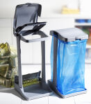 keeeper support pour sac 'ole', argenté/anthracite