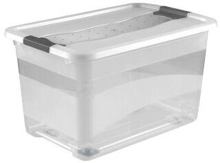 keeeper Boîte de rangement 'konrad', à roulettes, 52 litres