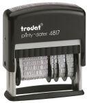 trodat Tampon multiformules Printy 4817A, pour généraliste