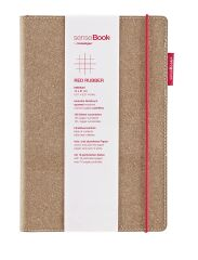 transotype Carnet de notes 'senseBook RED RUBBER', Medium,