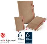transotype Carnet de notes 'senseBook RED RUBBER', Small