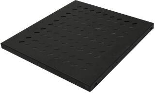 LogiLink Etagère 19', 1 U, montage fixe, (P)345 mm, noir