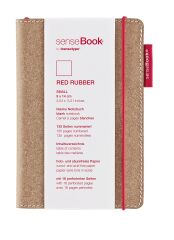 transotype Carnet de notes 'senseBook RED RUBBER', Small