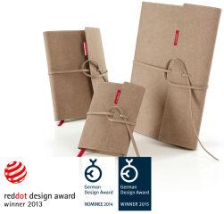 Accessoire, transotype Recharge pour 'senseBook FLAP', Medium, ligné