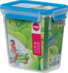 emsa Boîte de conservation CLIP & CLOSE, 1,10L, transparent