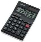 SHARP Calculatrice de bureau EL-M700 TWH, solaire / pile