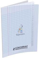 CONQUERANT CLASSIQUE Répertoire 170 x 220 mm, seyès,96 pages